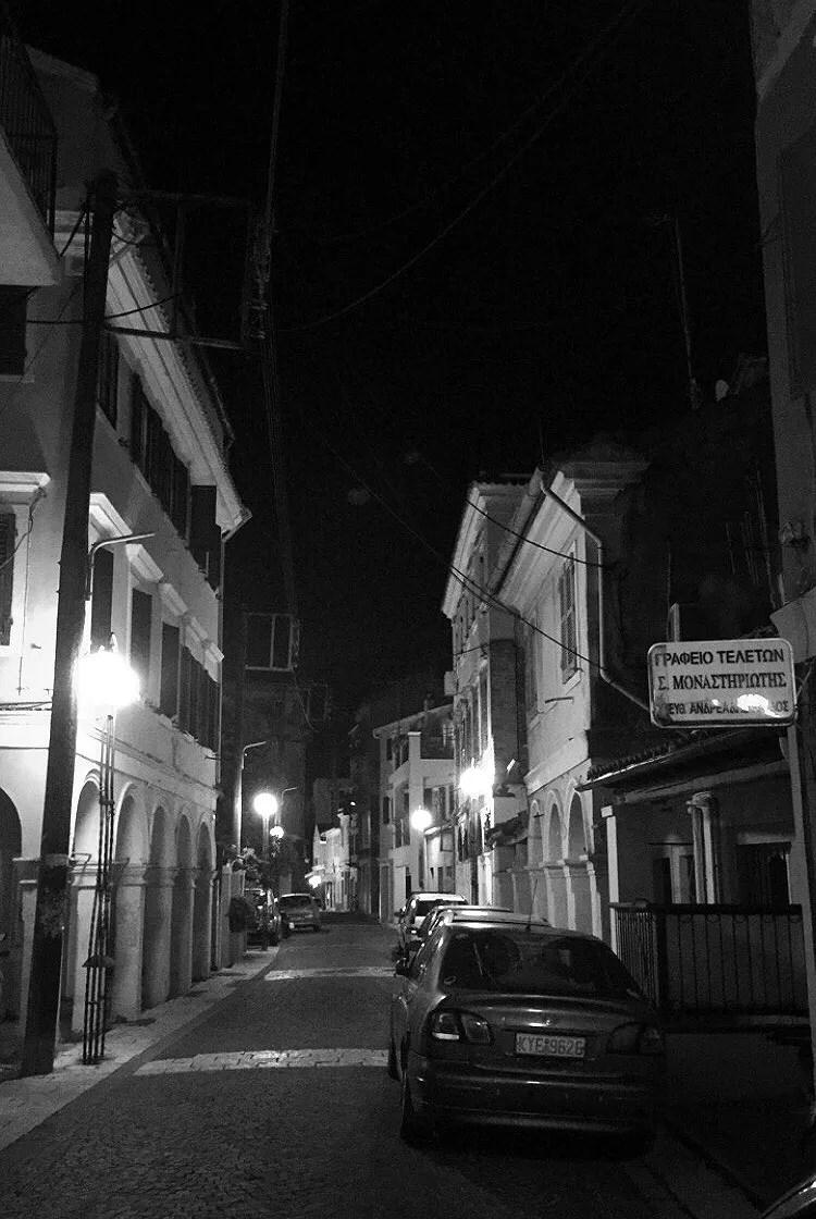 Godnatt från Korfu