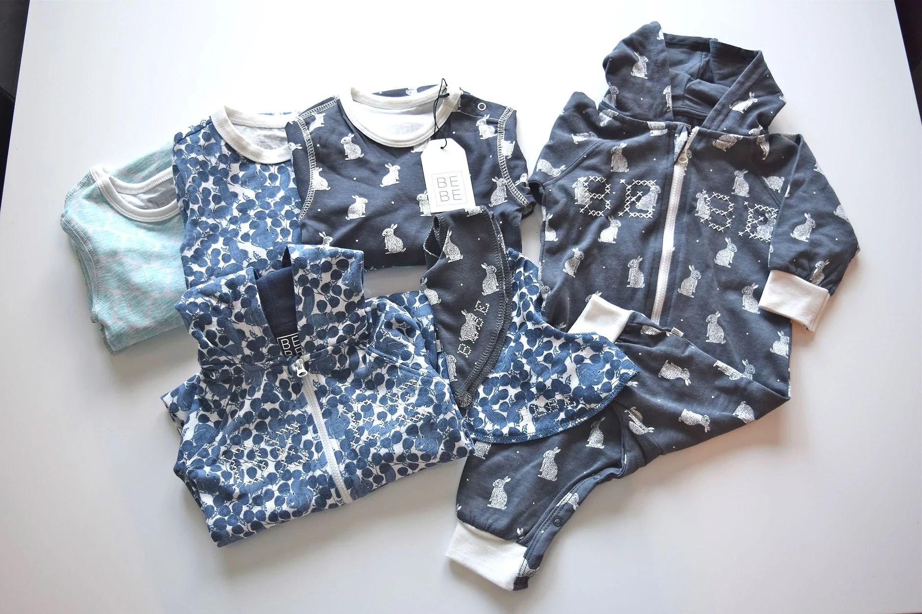 Första babykläderna!