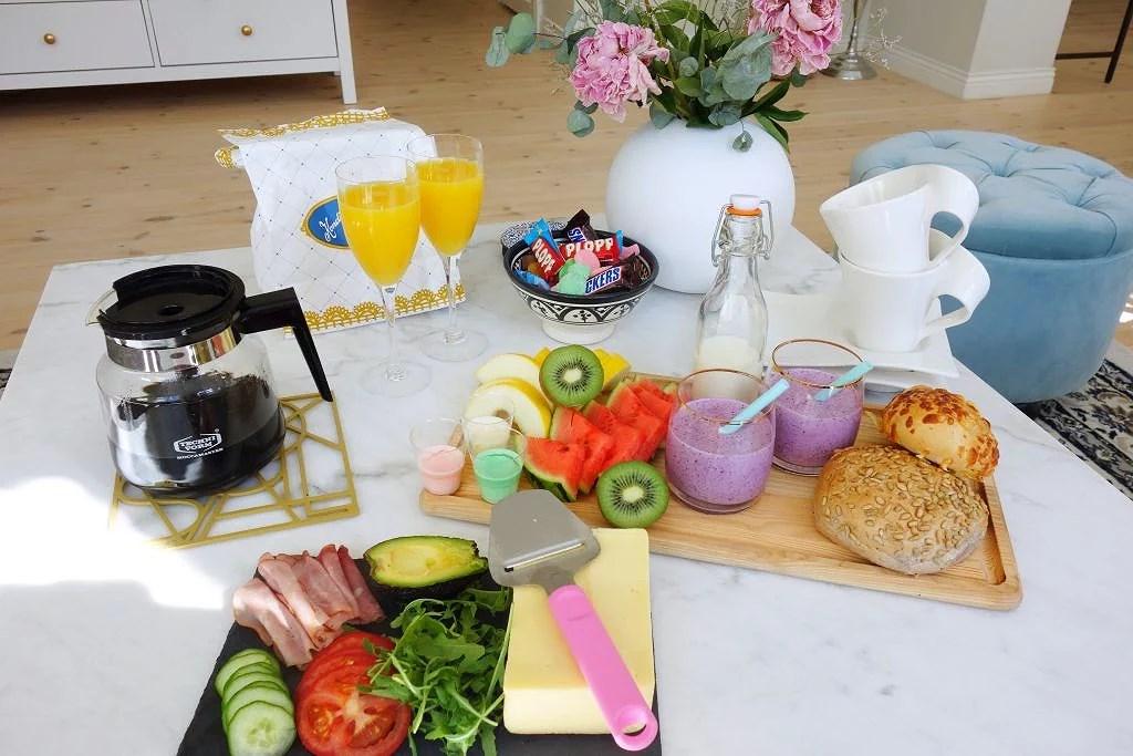 Lyxfrukost med frugan!