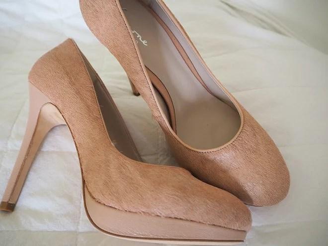 Mina nya håriga skor