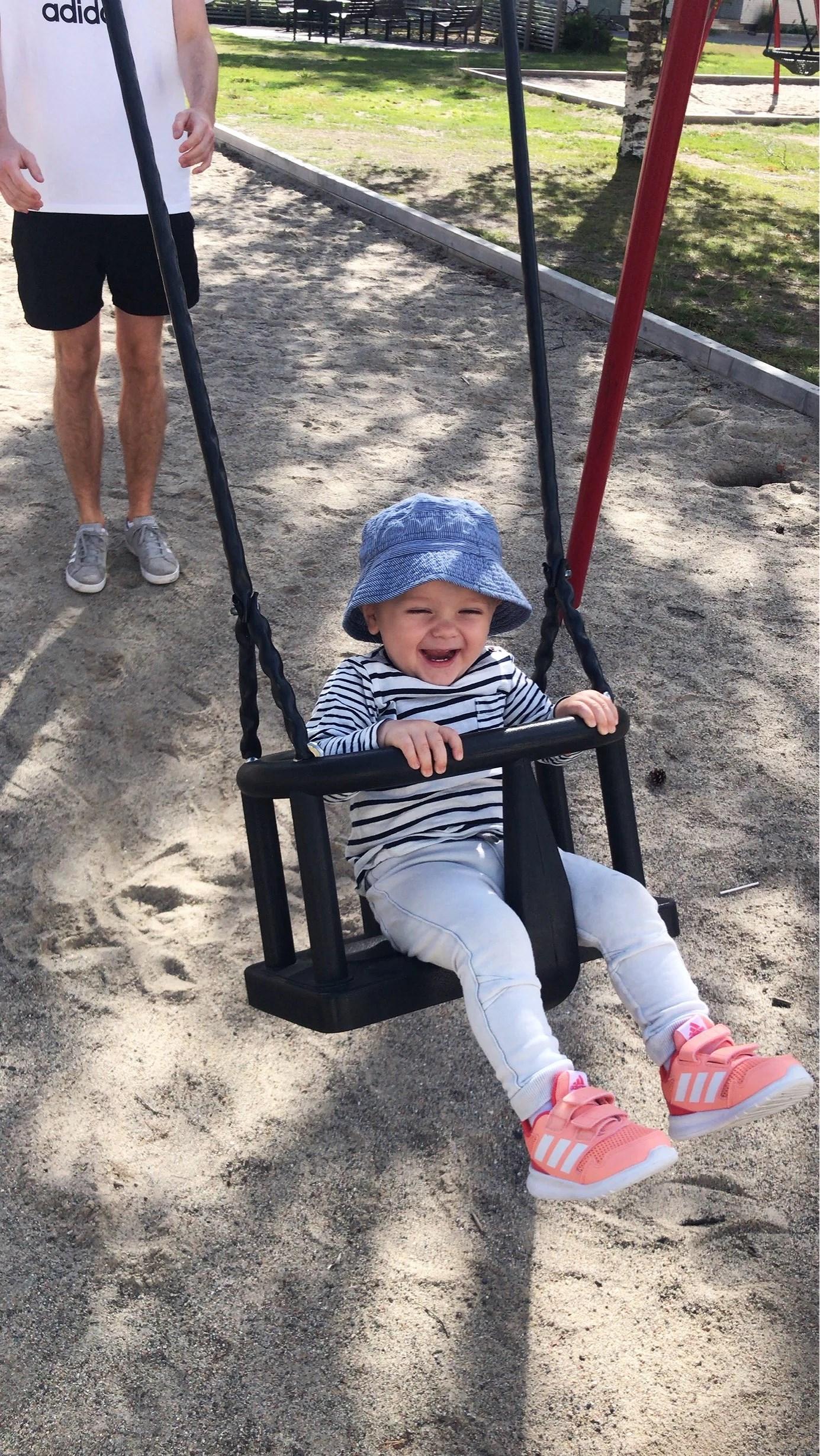 Lek i parken