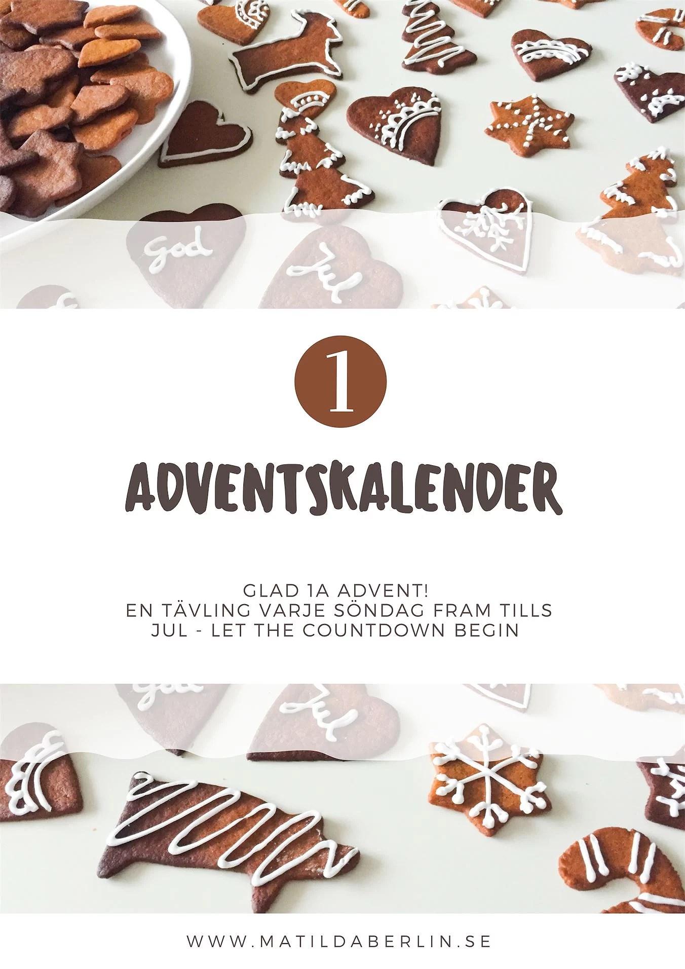 Adventskalender - lucka 1