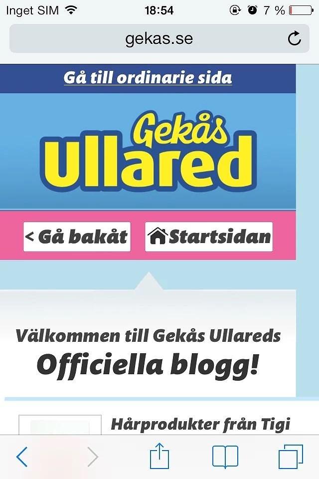 gekas blogg