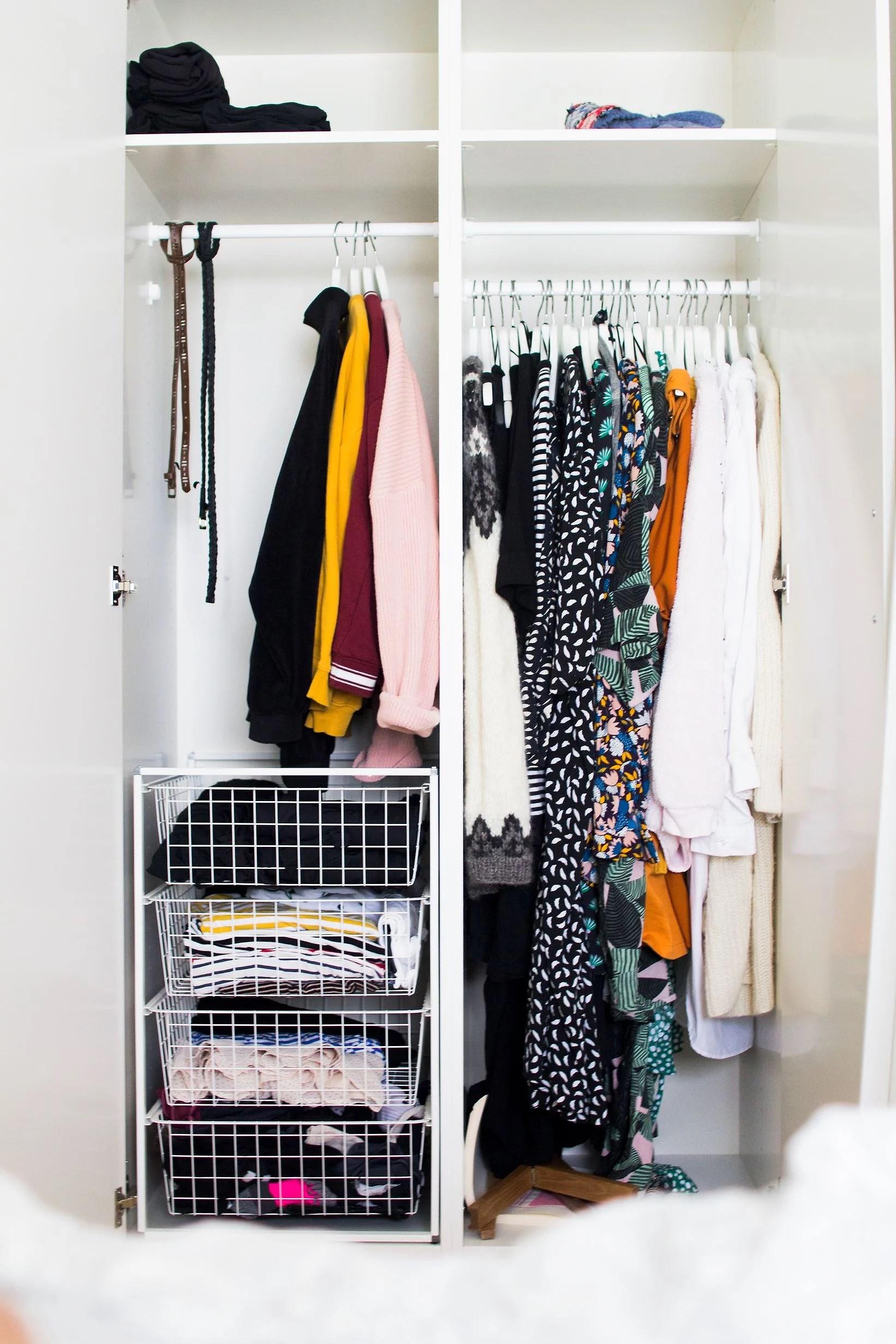 Minimalismutmaning // rensa garderoben