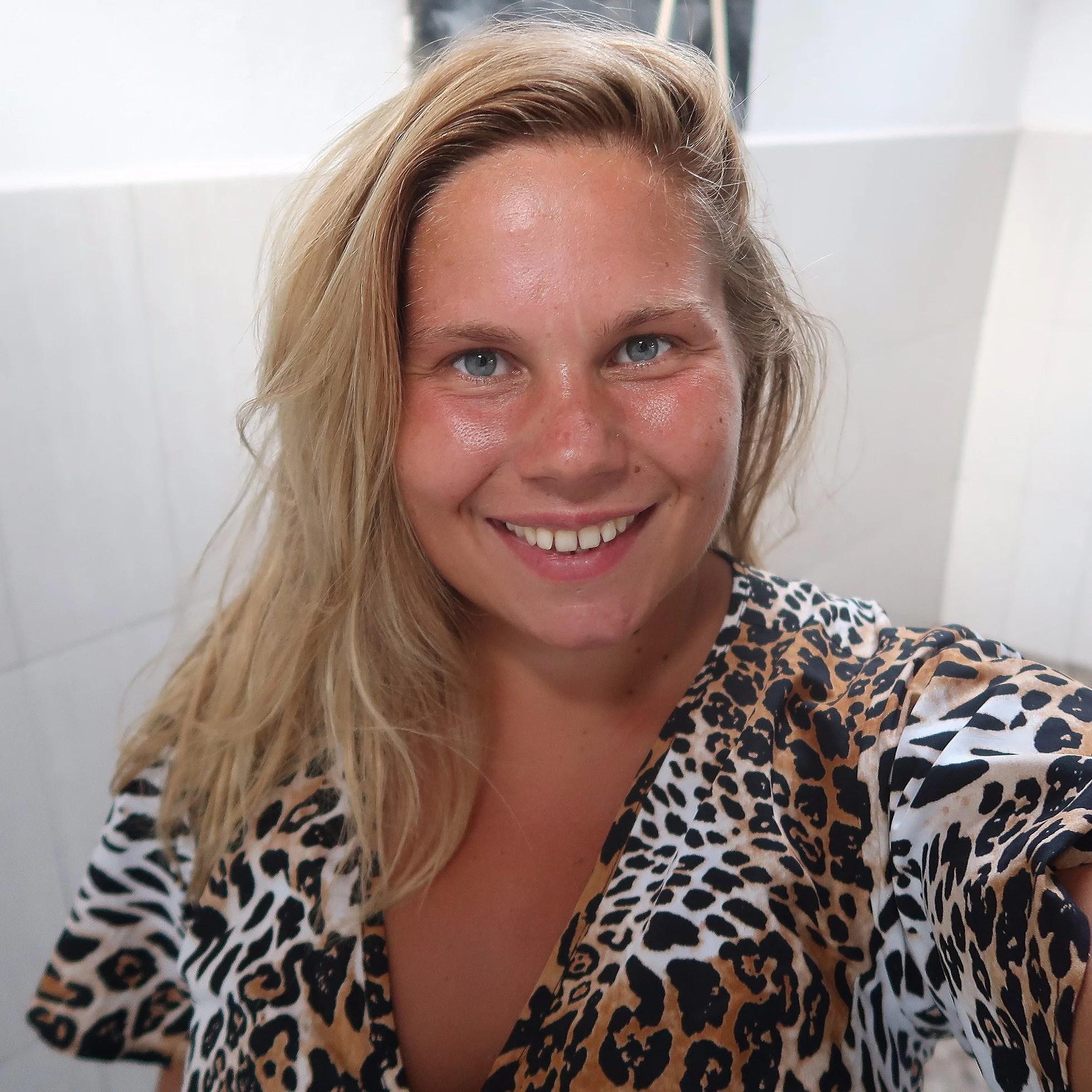 Leopardmönstrat
