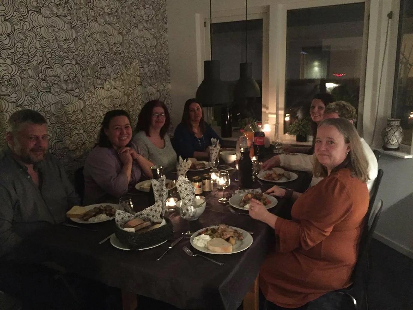 Middag med singlar