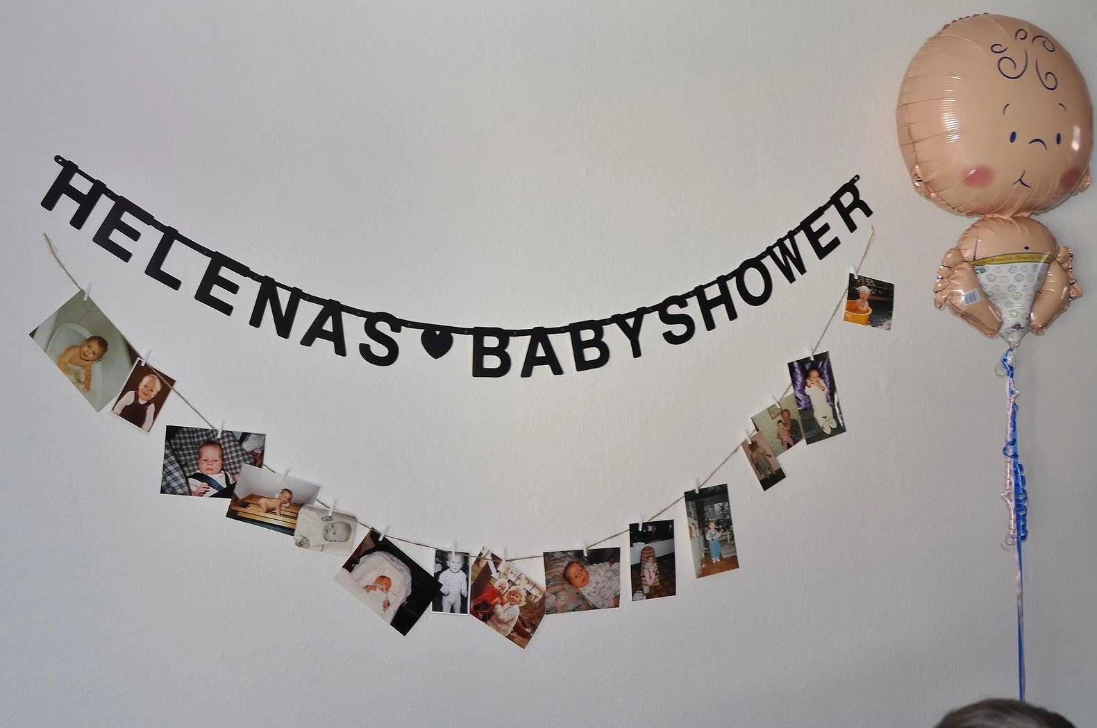 Babyshower gissa barnmaten