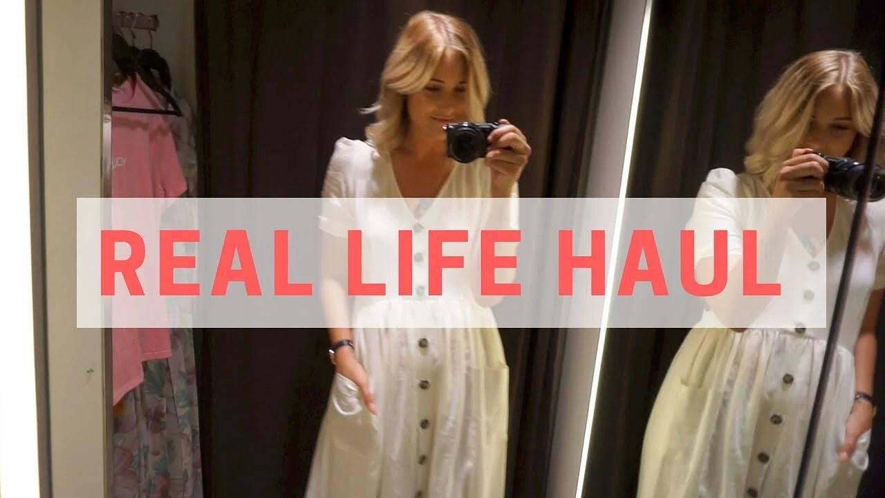 Video: bli med meg på shopping!