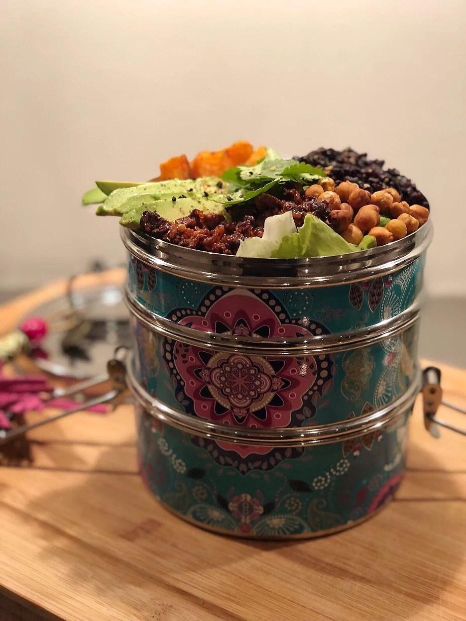 Boho Tiffin lunch box