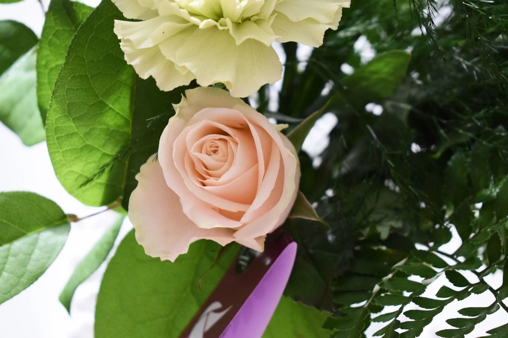 Blombudet från igår!