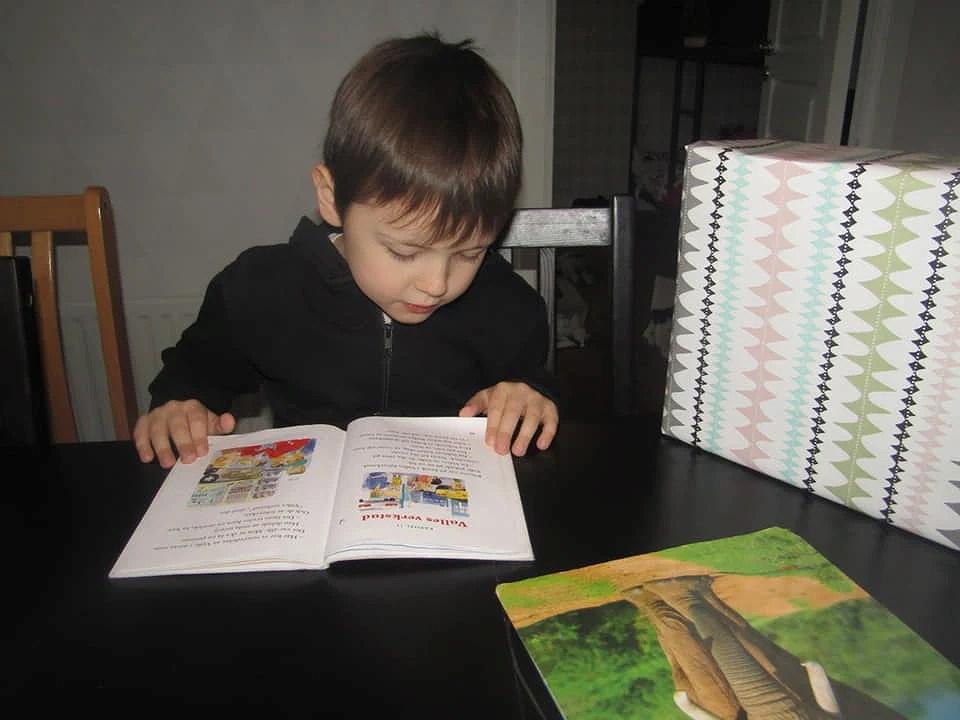 Noah 7 år
