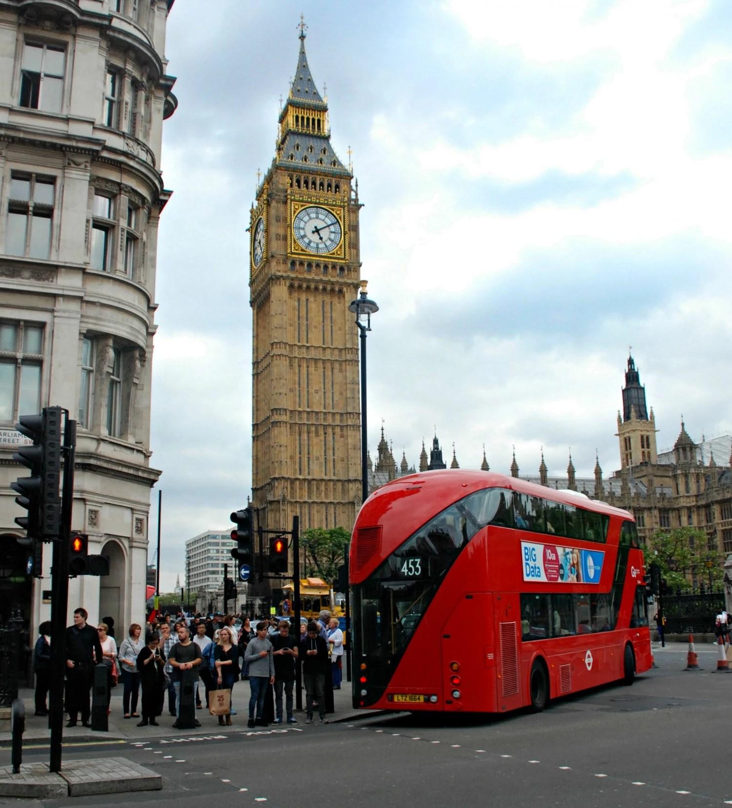 Min weekend i London