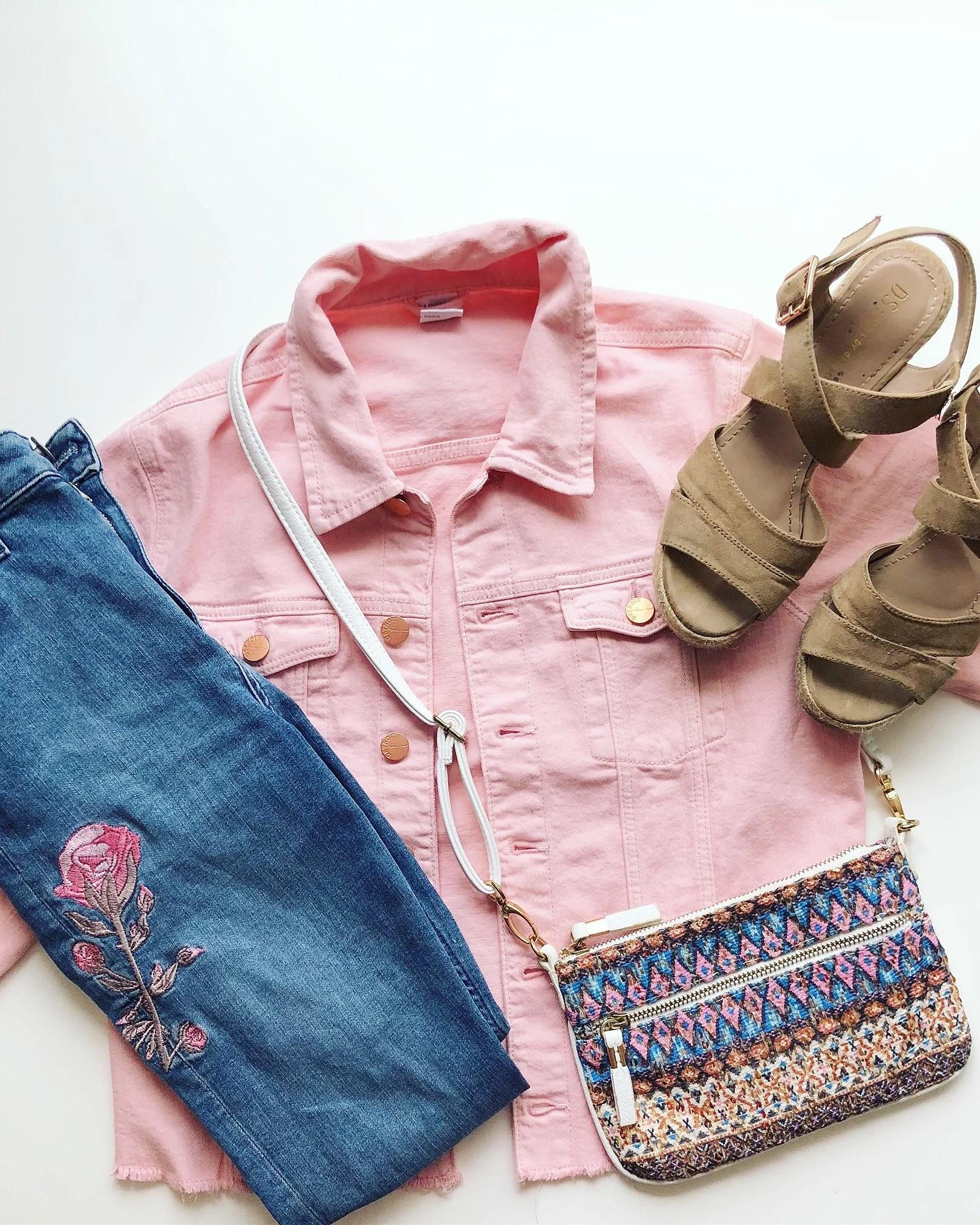 Blommor och rosa i en härlig kombination!