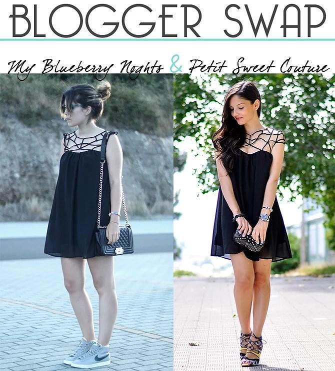 ...Blogger Swap: Black Dress...