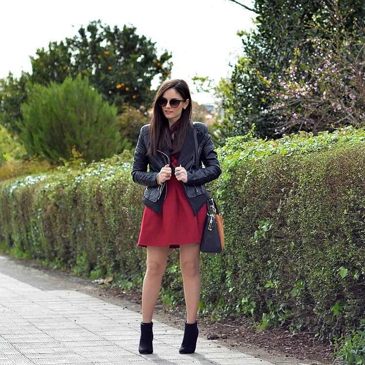 ...Red Skirt...