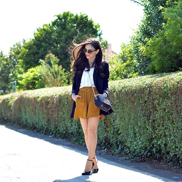 ...Mustard Shorts...