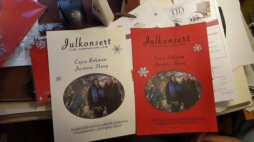 Julkonsert Ankarsrums kyrka