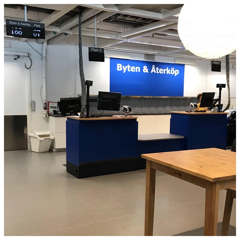 Returkön på Ikea
