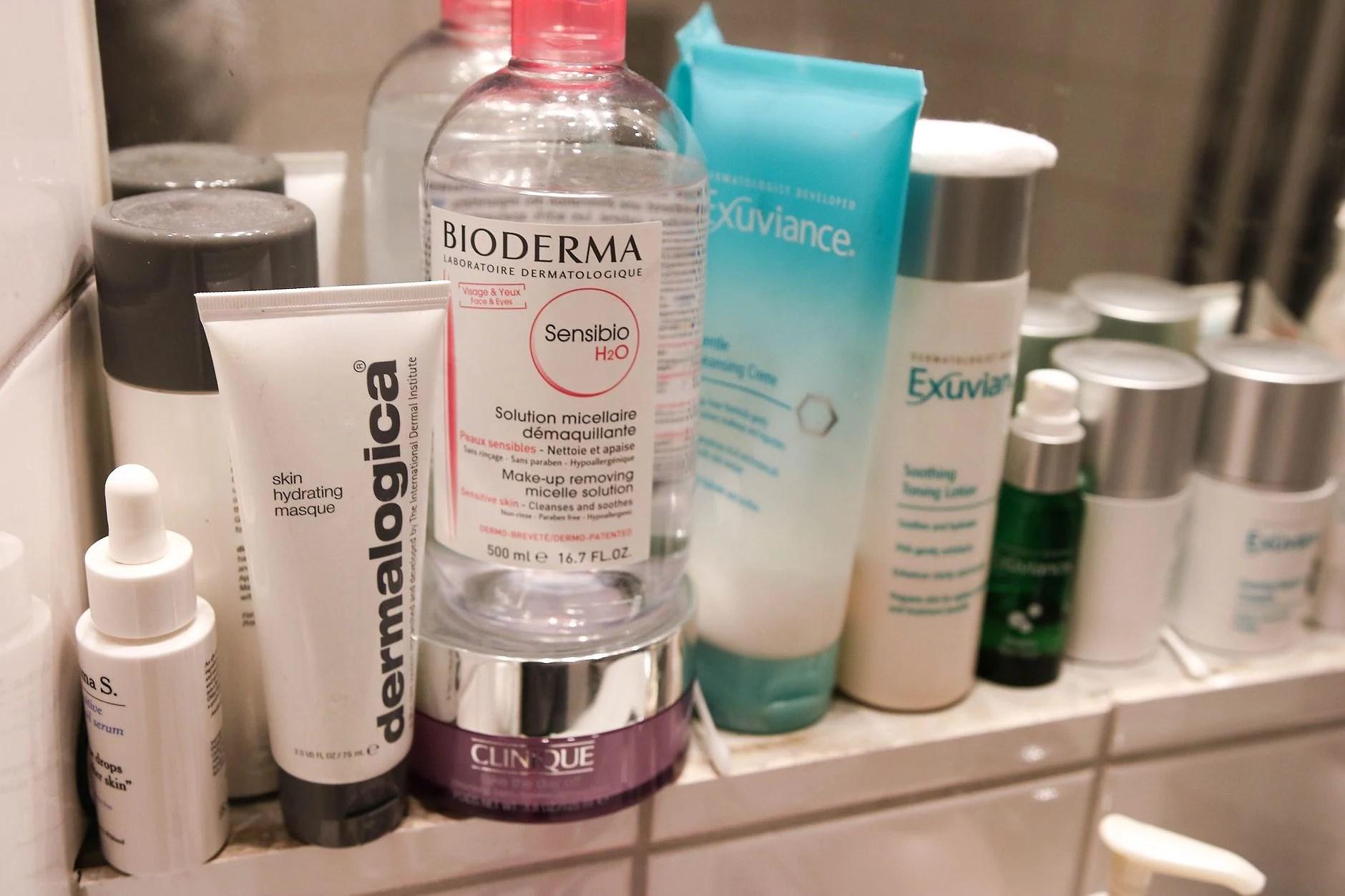 my beauty shelf