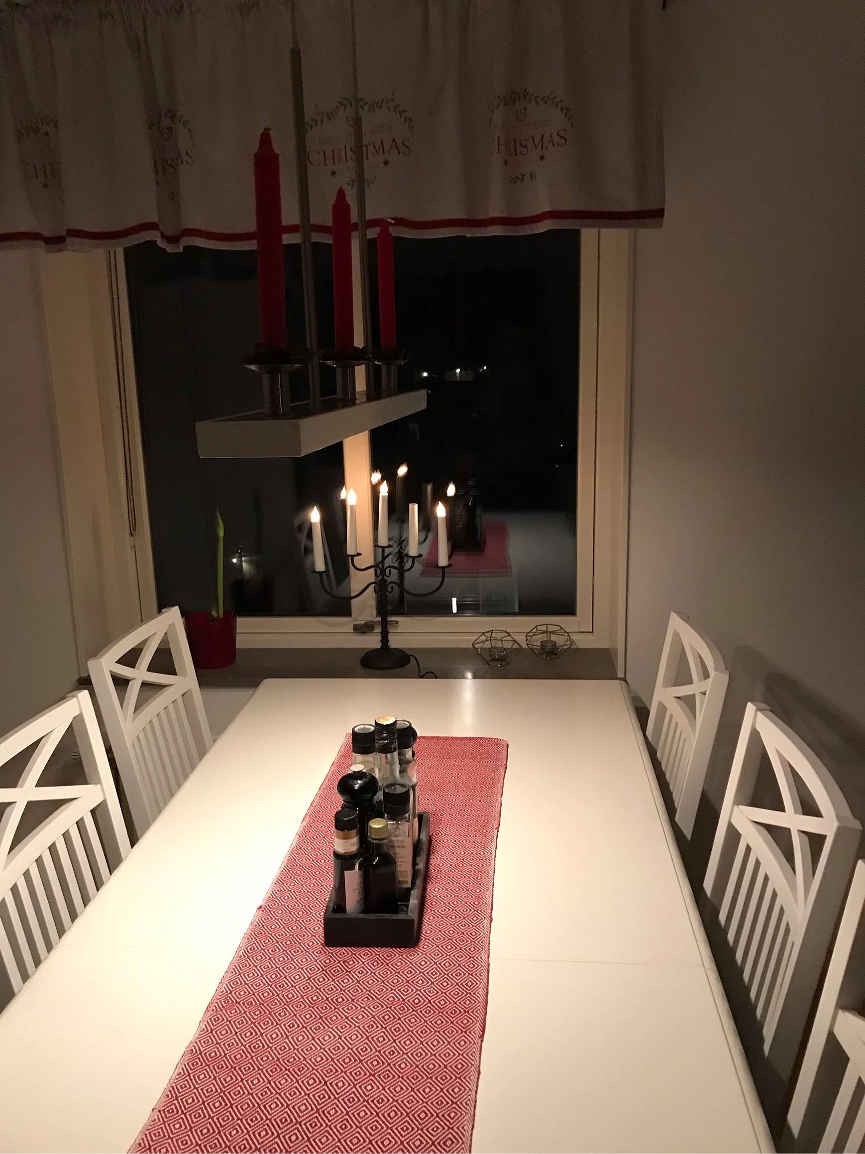 Nu är det jul här i vårt hus