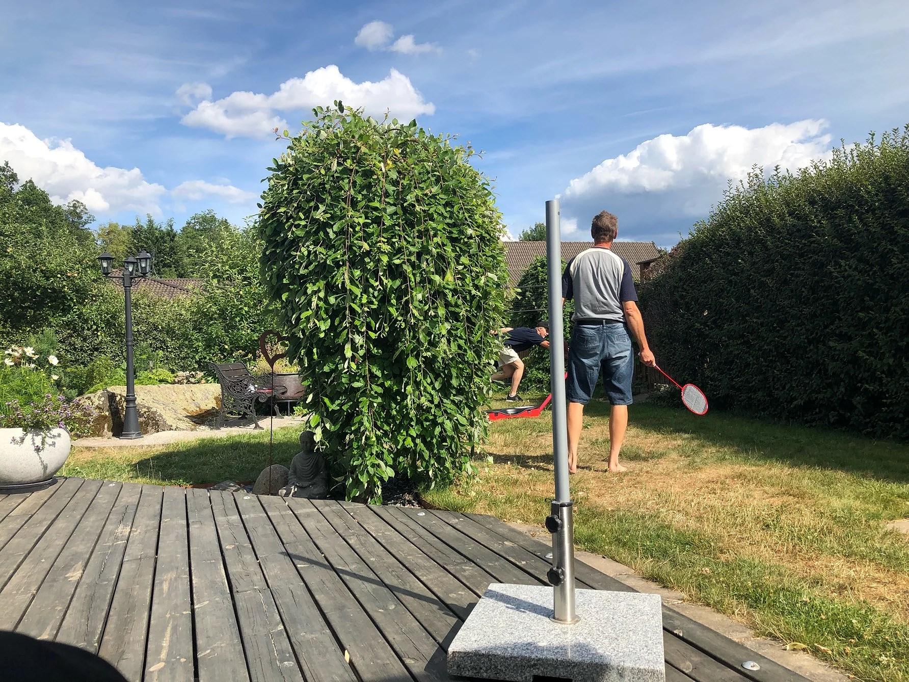 Badminton & att må skit