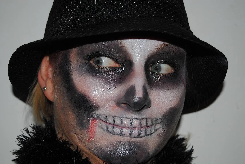 Laskiga Halloween Sminkningar.Halloween Makeup Fannyfagersten