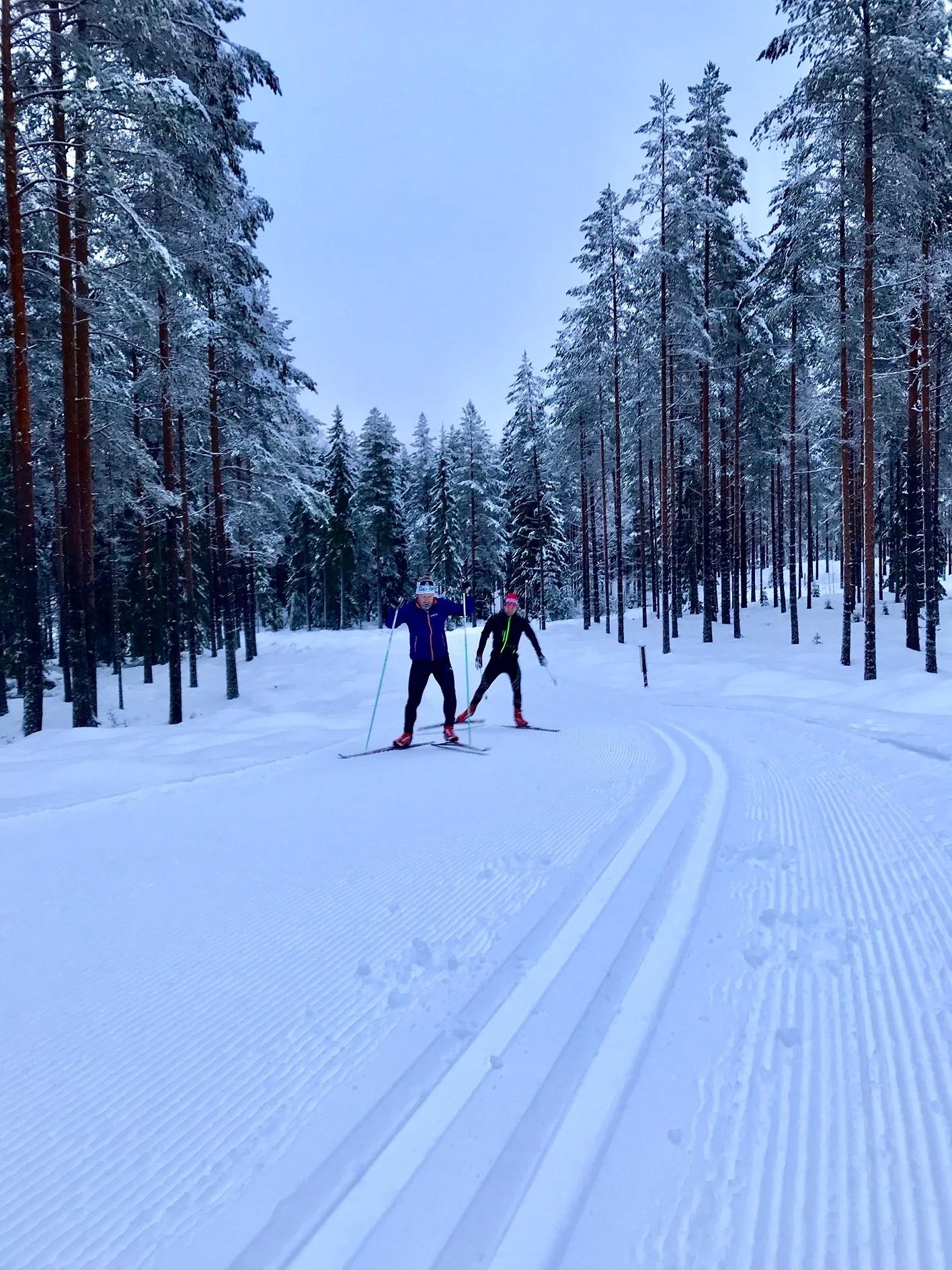 Kortpass innan avfärd mot Piteå!