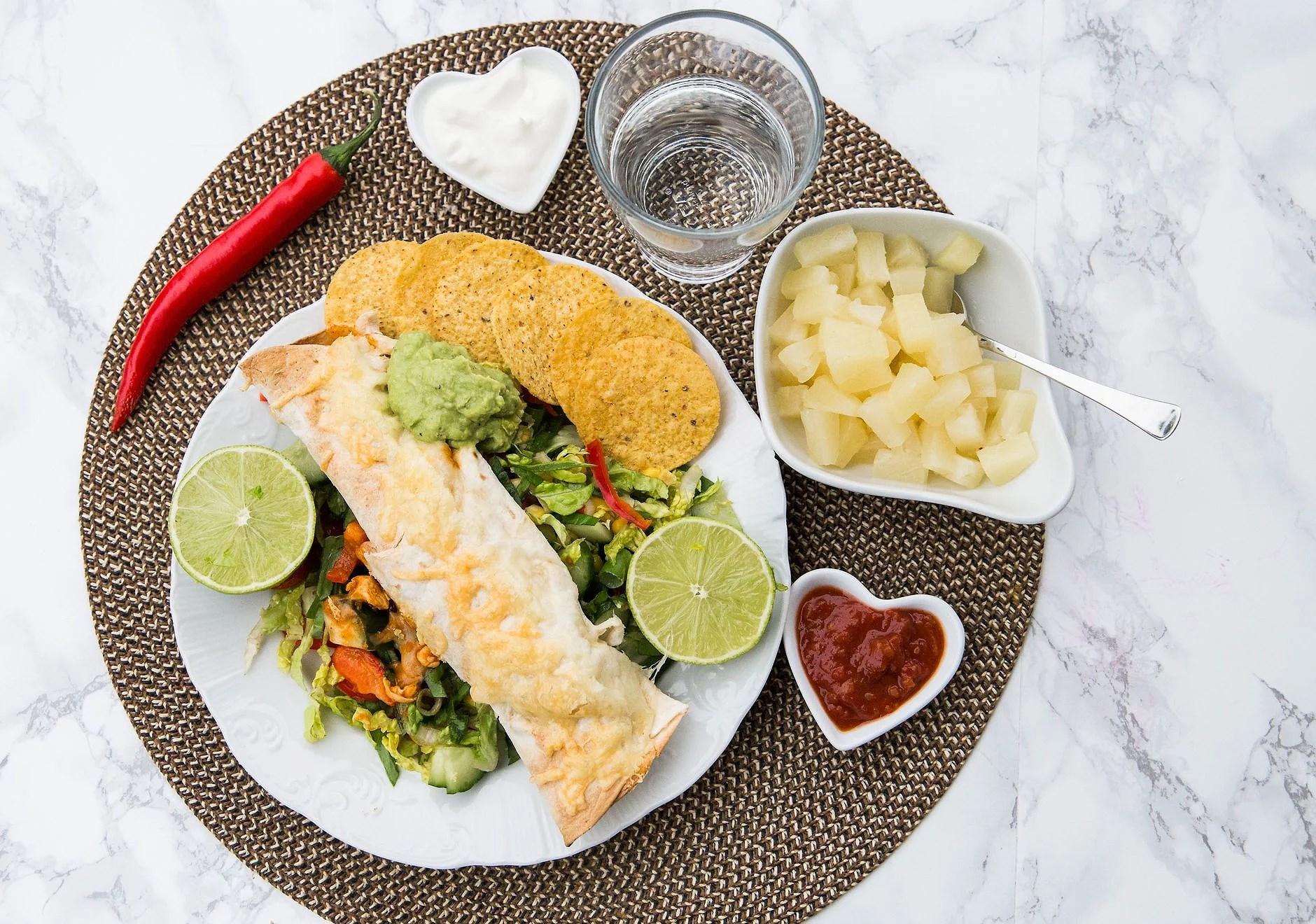 Marielas enchiladas