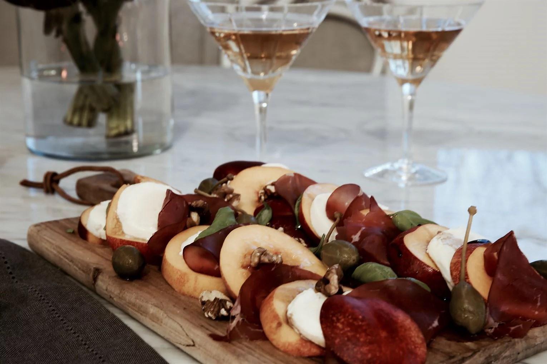 Förrätt persika recept