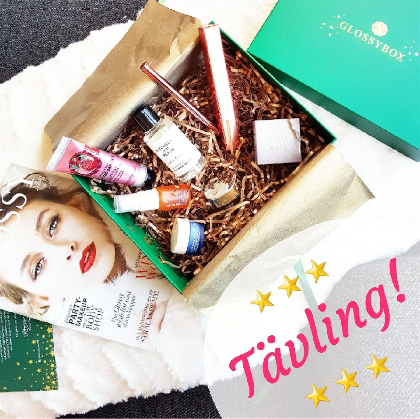 Tävling på Instagram - vinn den lyxiga Glossyboxen!