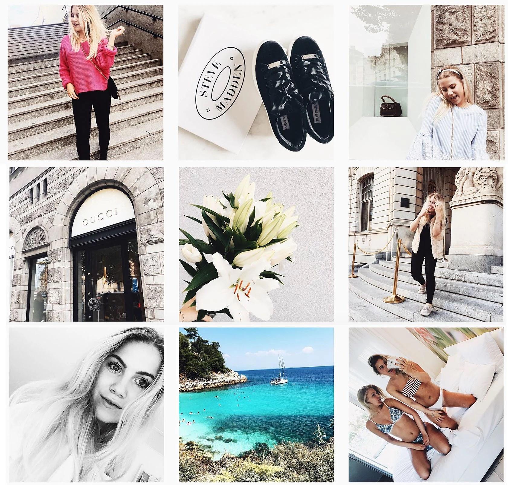 Latest on instagram