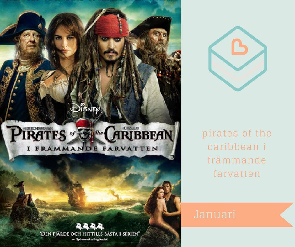 Filmer jag vill se på Netflix - Pirates of the Caribbean i främmande farvatten