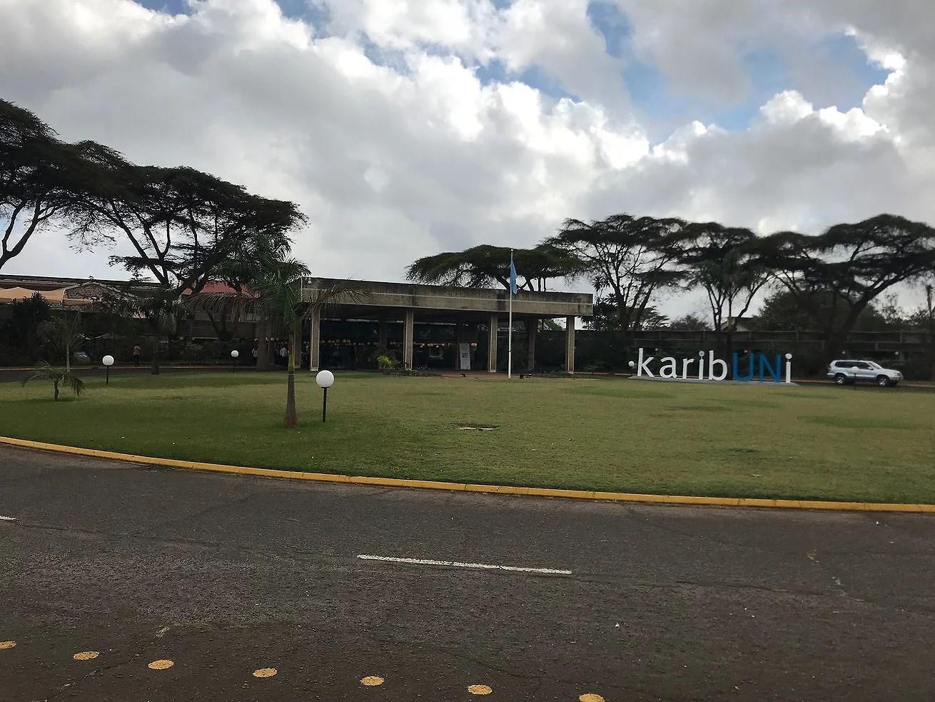 Studiebesök på FN