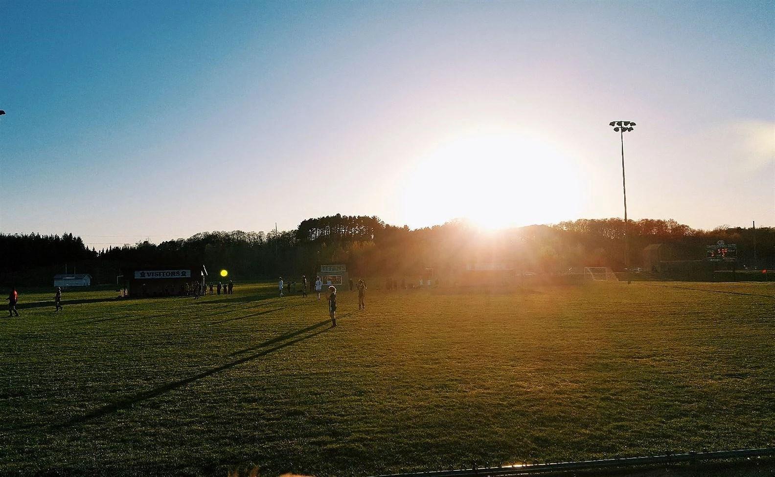 bilolycka och fotboll