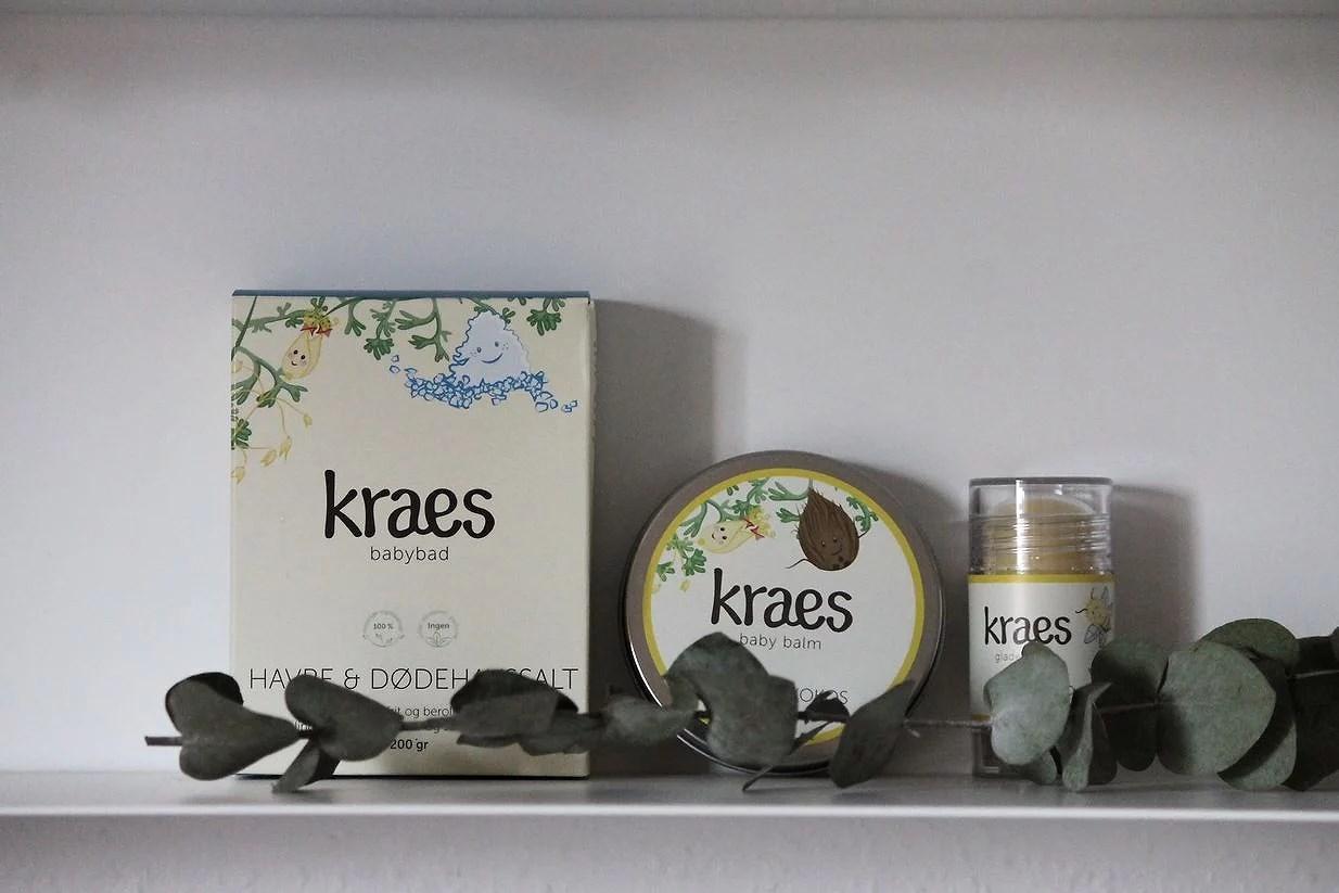 Gå glad i bad med Kraes babybad