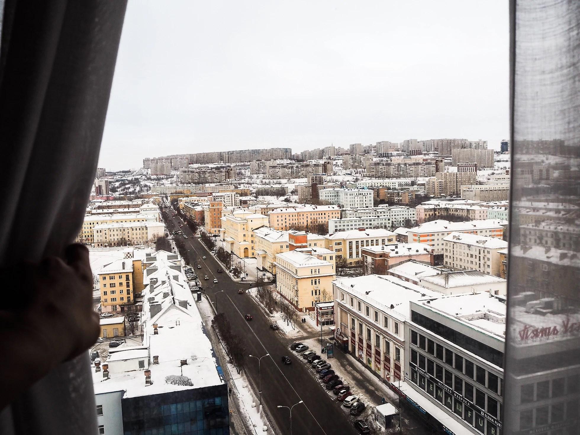 Waking up in Murmansk