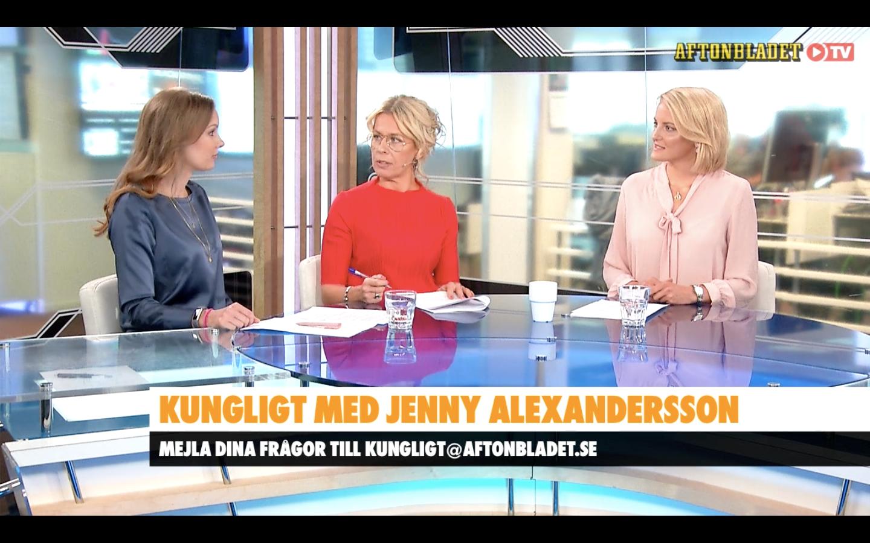 Kunglig med Jenny Alexandersson