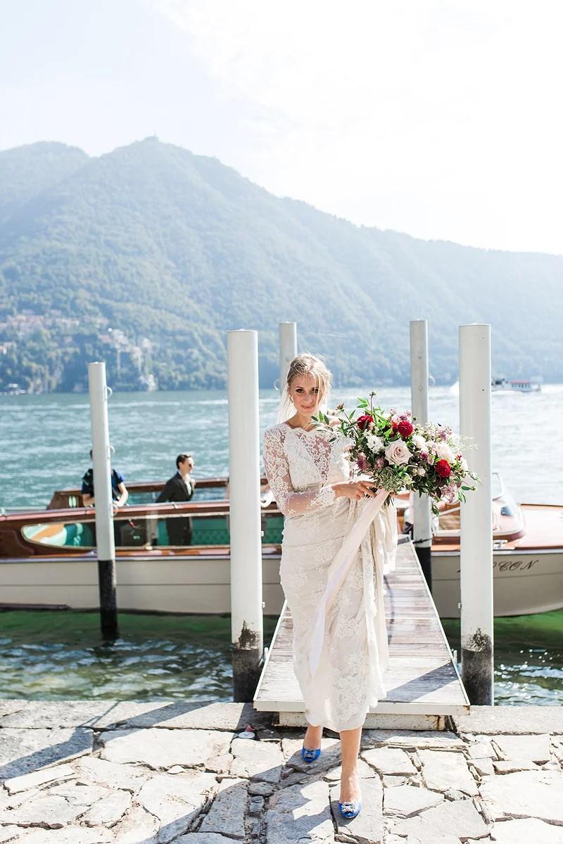 Sensommarbröllop vid Lake Como