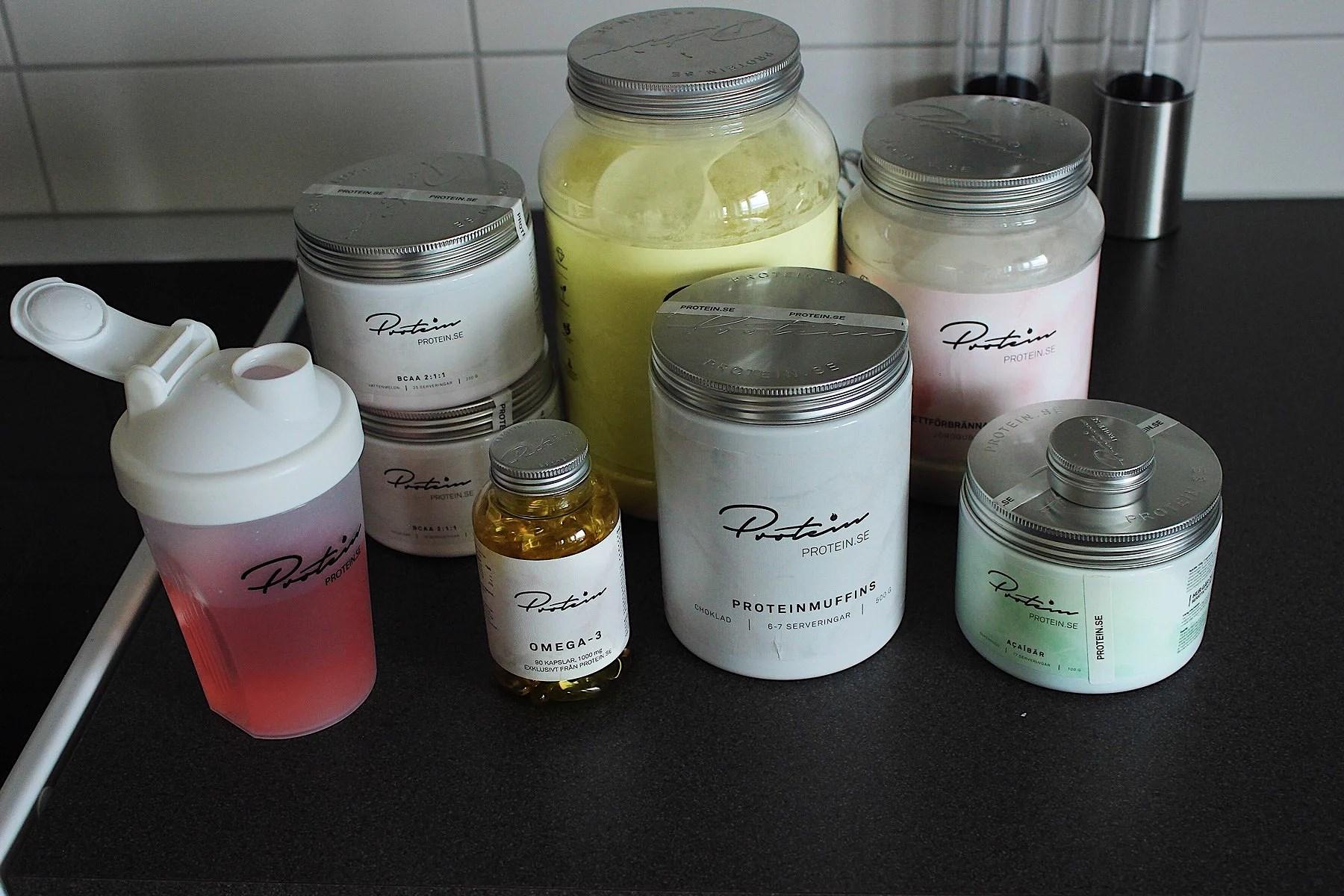 Testar & recenserar protein.se