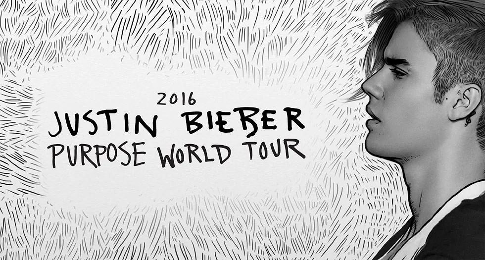 Landar i Stockholm + Setlist Purpose Tour