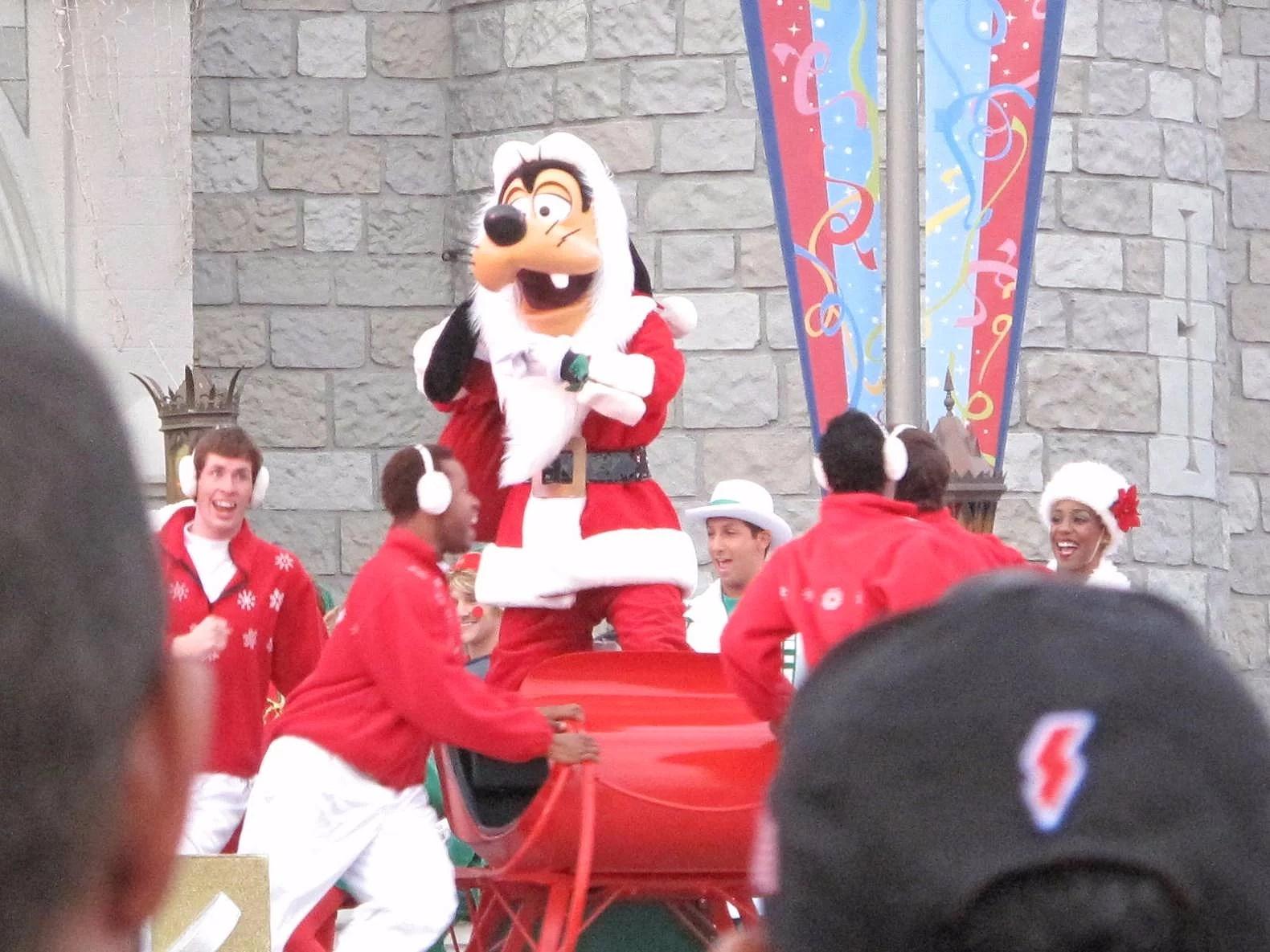 Jul på Disney