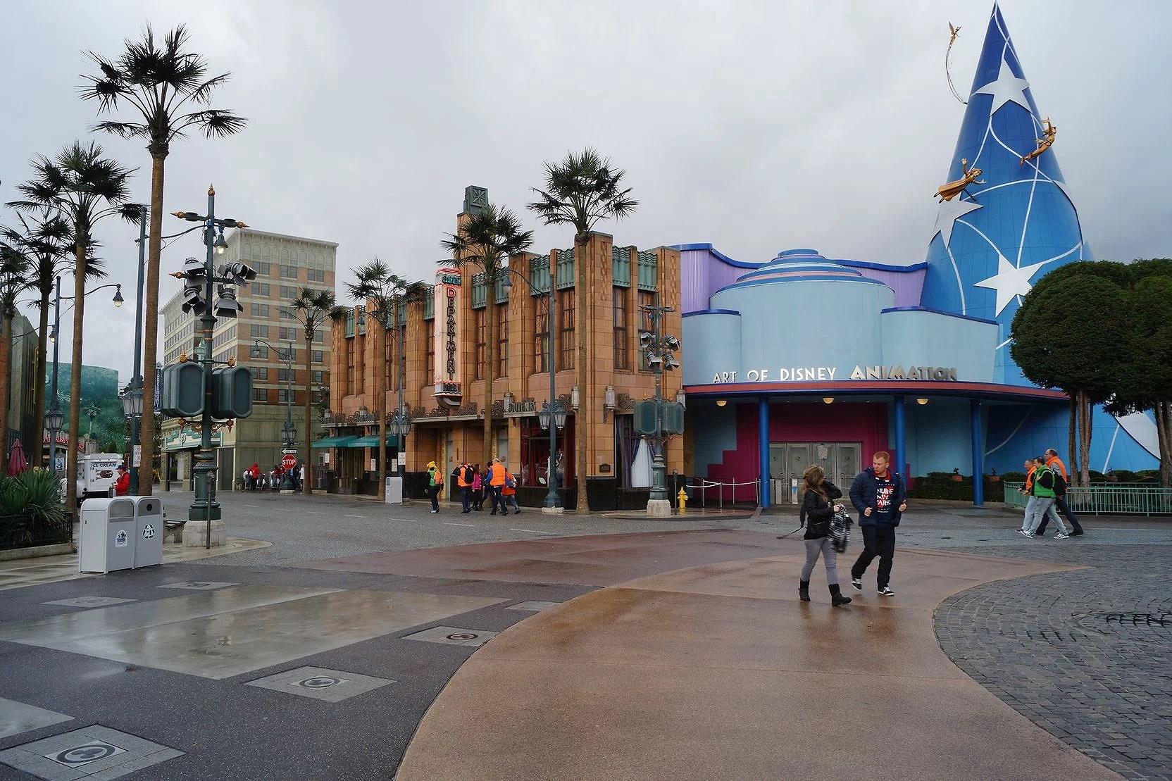 Stängda attraktioner på Disneyland Paris - April 2019