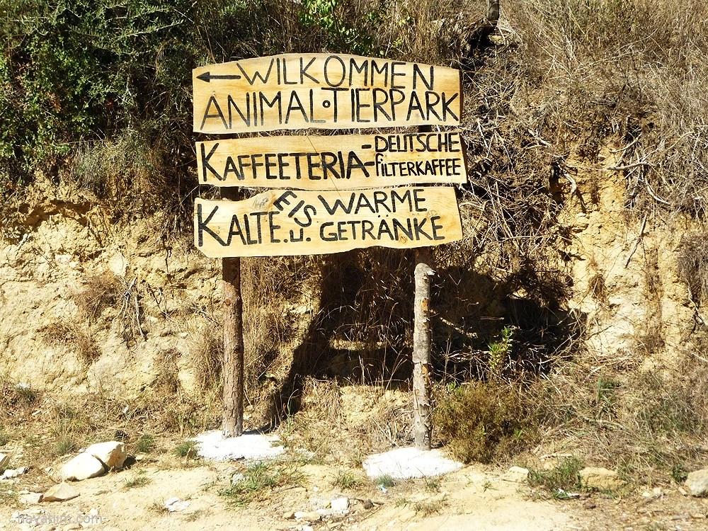 Tierpark in Manavgat
