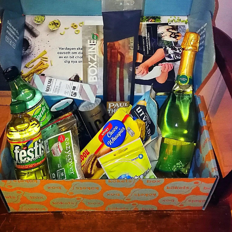 Få Kökets box picknick för halva priset