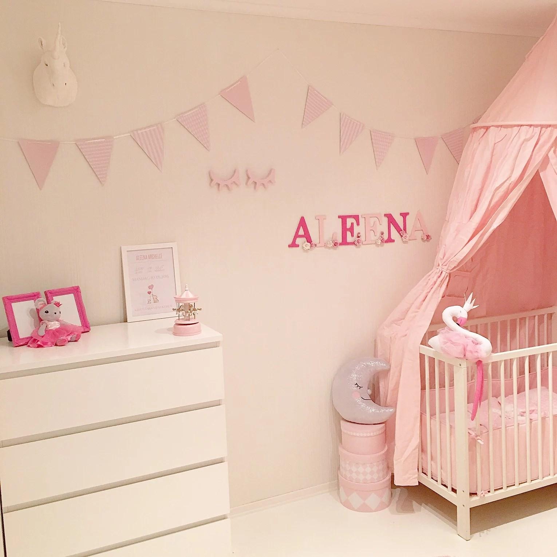 Barnerommet før og etter