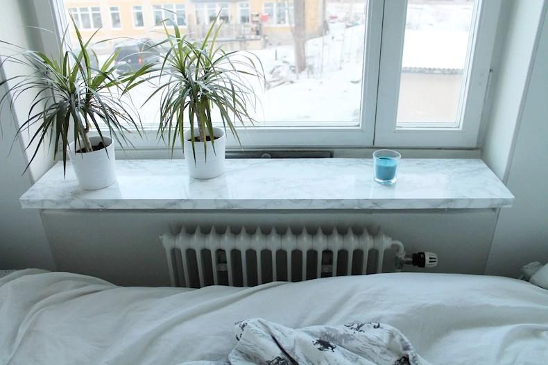 Marmor fönsterbräda | Erica Antonsen