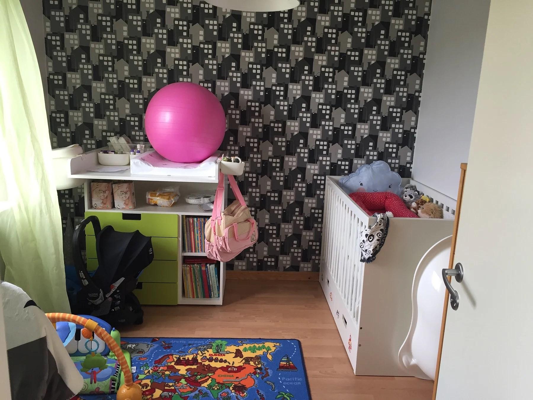 Bilder ifrån bebisrummet!