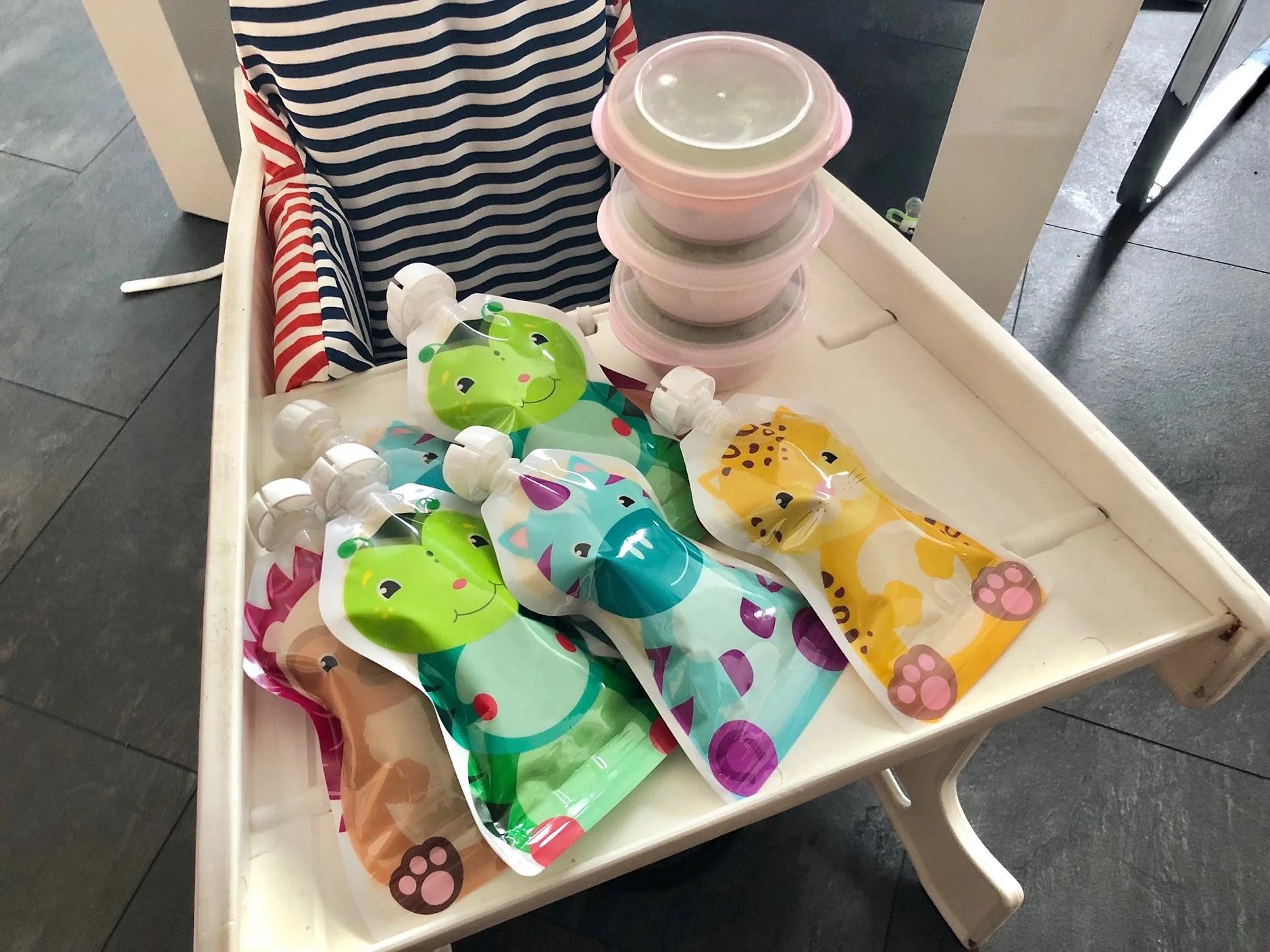 Busenkelt att göra egen barnmat!