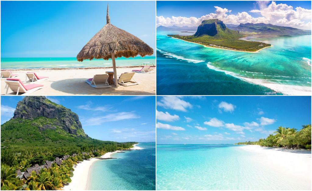 Mauritius - Nyper mig själv i armen