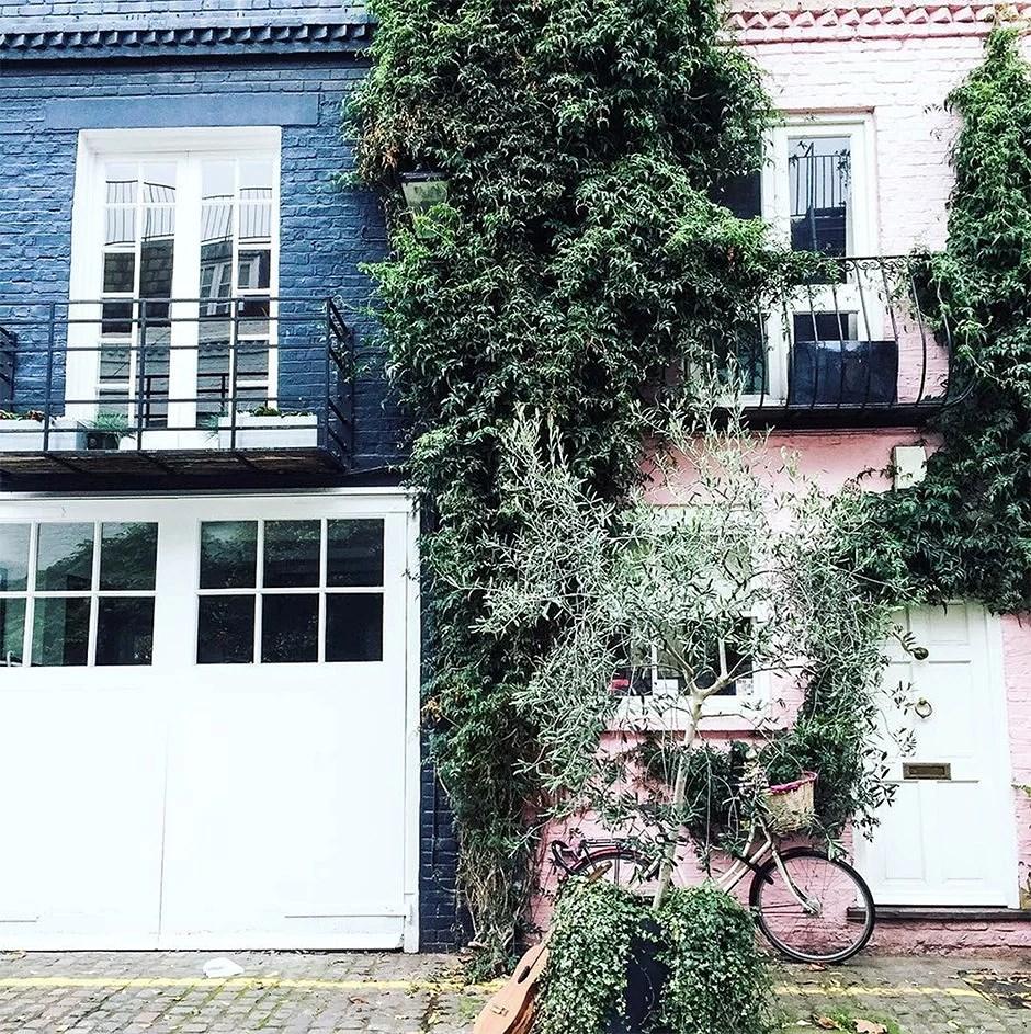 Her får du de beste bildene til Instagram i Notting Hill, London!
